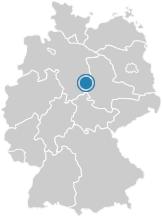Lage von der Stadt Bad Harzburg auf der Deutschlandkarte